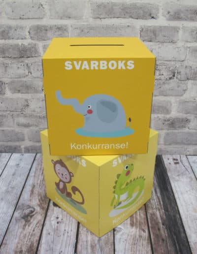 Display - Kuber - Svarboks