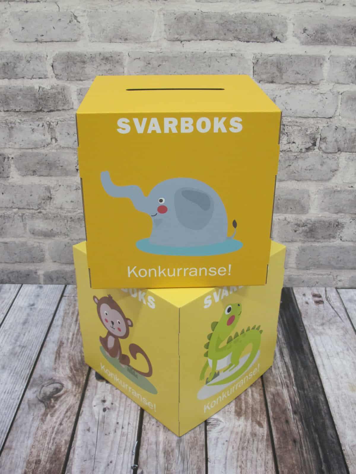 Display - Kuber - Svarboks