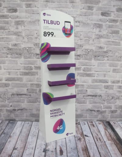 Display - Gulvdisplay - Telia